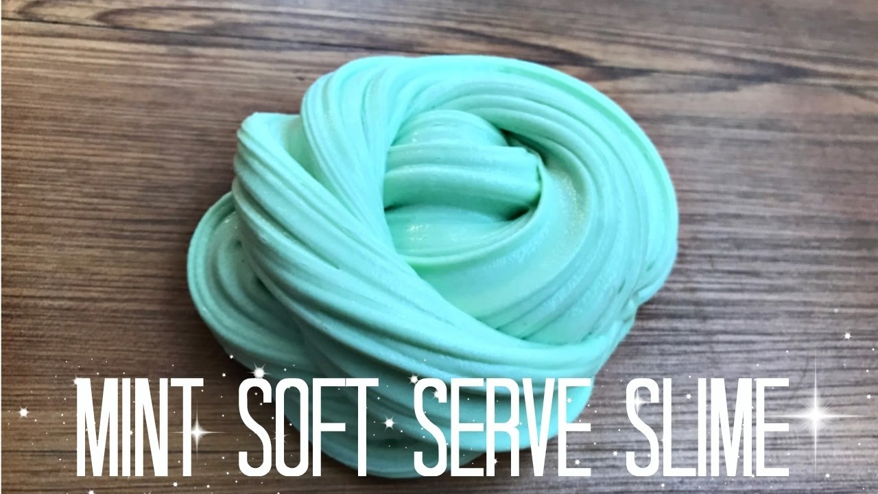 How to make mint soft serve fluffy stretchy slime diy youtube how to make mint soft serve fluffy stretchy slime diy ccuart Choice Image