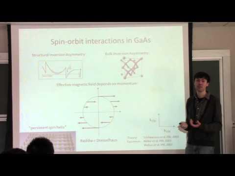 Quantum Transport, Lecture 10: Spin-Orbit Interaction