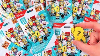 Minions Series 11 Blind Bags by Mega Construx Despicable Me 3 w/ Ultra and Secret Rare Figure