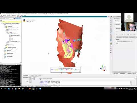 Clustering geochemical and geophysical data - Virtual Lecture