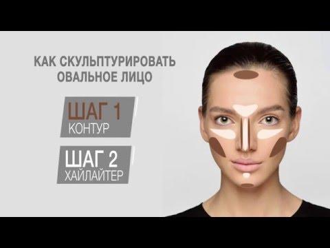 Как скульптурировать овальное лицо