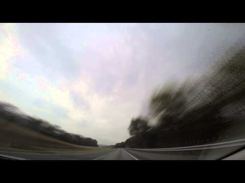 Drive from Chester County to State College, Pennsylvania September 2014