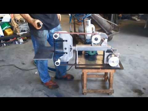 BIÇAK  BANT ZIMPARA MAKİNASI  (KNIFE BAND GRINDING MACHINE)