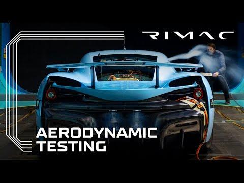 Rimac C_Two Final Wind Tunnel Test