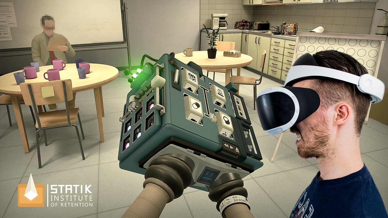 MY HANDS ARE TRAPPED! | Statik #1 - Playstation VR Gameplay - YouTube