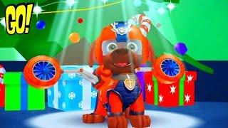 Щенячий Патруль Новогоднее Приключение на Вершине Горы с Зумой игра Мультфильм на Русском Языке