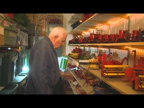 Toy Maker Creates Miniature Case IH Equipment