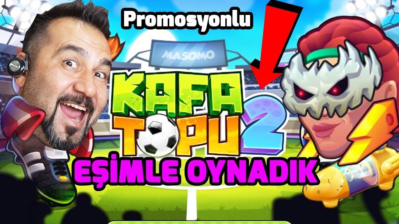 EŞİMLE (EŞSES) KAFA TOPU 2 OYNADIK!