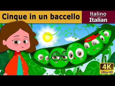Cinque in un baccello   Storie Per Bambini   Favole Per Bambini   Fiabe Italiane