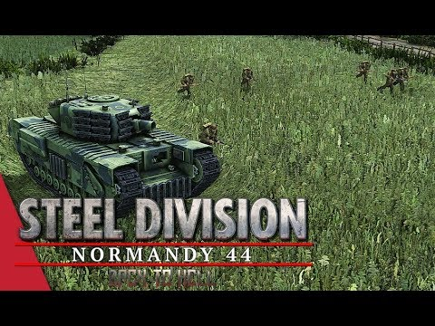 Chickendew's ET LB Round 1! Steel Division: Normandy 44 - Herr_Robert vs Walther (Odon, 1v1)