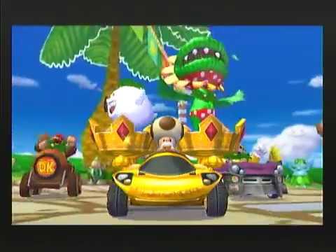 Mario Kart Double Dash King Boo Petey Piranha All Cup Tour Part 2