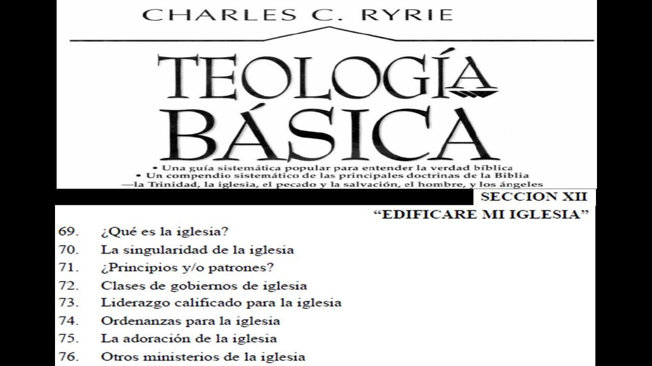 Teolog a charles ryrie cap 73 liderazgo calificado para la iglesia 73 94
