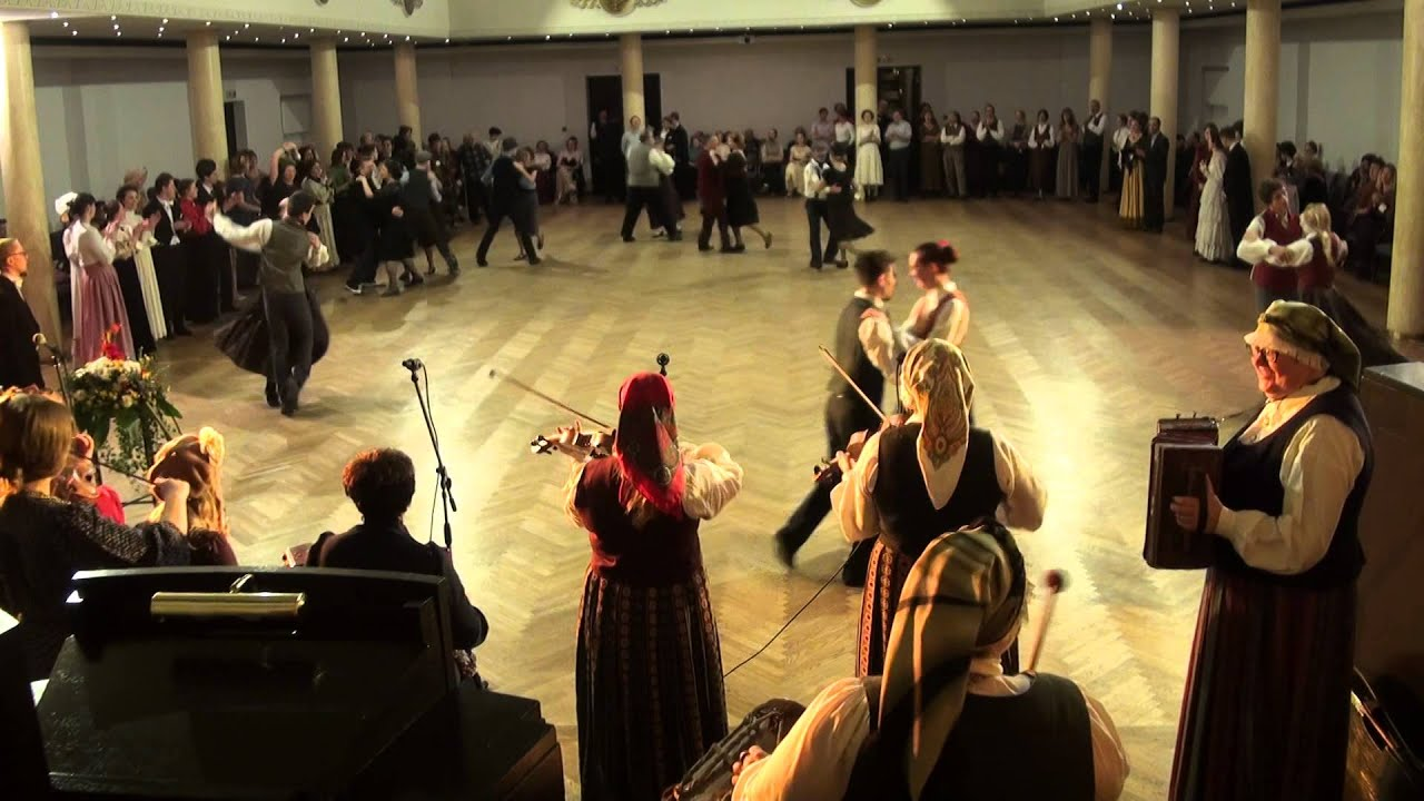 """00026 Folkloras mūzikas un deju kopas DANDARI 35 g. jubilejas  """"kadriļu balle"""""""""""