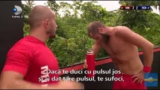 Exatlon Romania (06.10.2018) - Pulhac, ajutat de medici după întrecerea cu Iulian! Partea 2