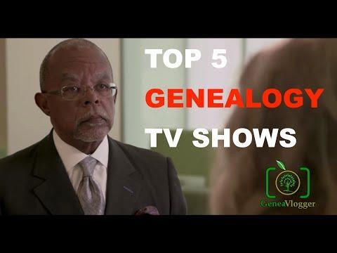 Top 5 Genealogy TV Shows (VLOG #35)