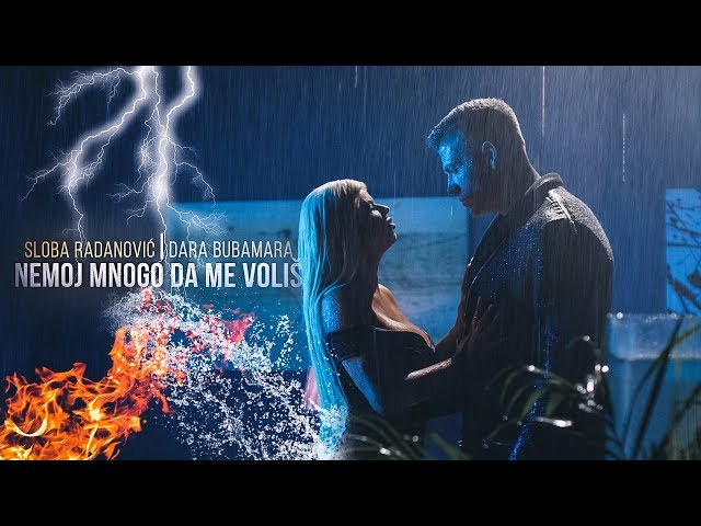 SLOBA RADANOVIC & DARA BUBAMARA - NEMOJ MNOGO DA ME VOLIS (OFFICIAL VIDEO) 4K