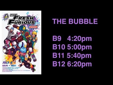GTA RollerGirls The Fresh The Furious 2015 Games B9 B10 B11 B12 The Bubble Roller Derby