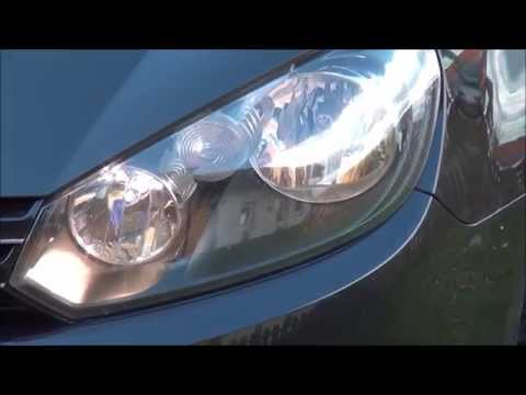 VW Golf 6 VI H15 Weiß Xenon Look Lampe Test How to Wechsel B
