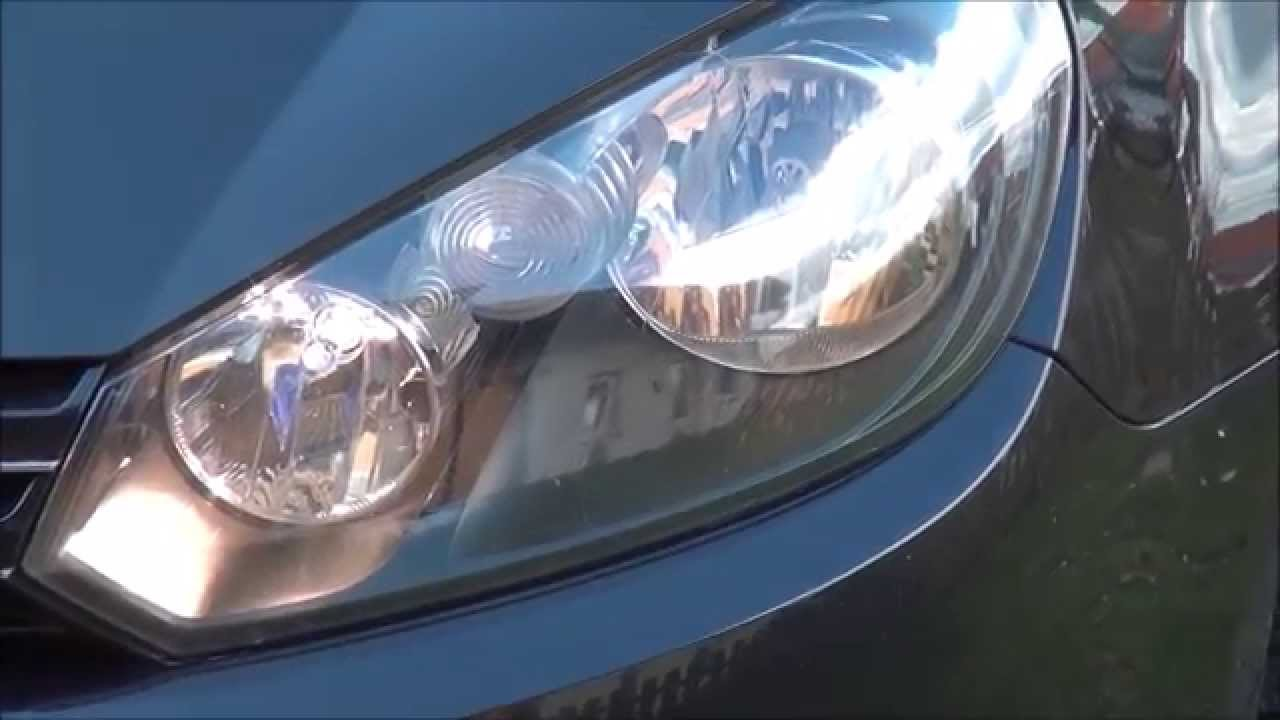 Vw Golf 6 Vi H15 Weiß Xenon Look Lampe Test How To Wechsel Bluetech