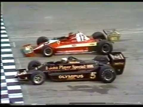 Formula 1 1978 Season, Round 14. Italian Grand Prix, win by
