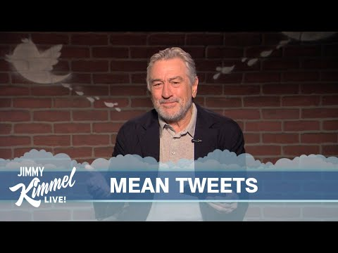 Thumbnail: Mean Tweets - Robert De Niro Edition