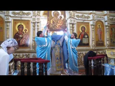 Рославль, Спасо-Преображенский мужской монастырь, праздник Тихвинской иконы Божией Матери 2013
