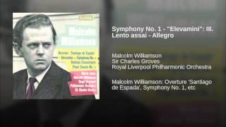 "Symphony No. 1 - ""Elevamini"": III. Lento assai - Allegro"
