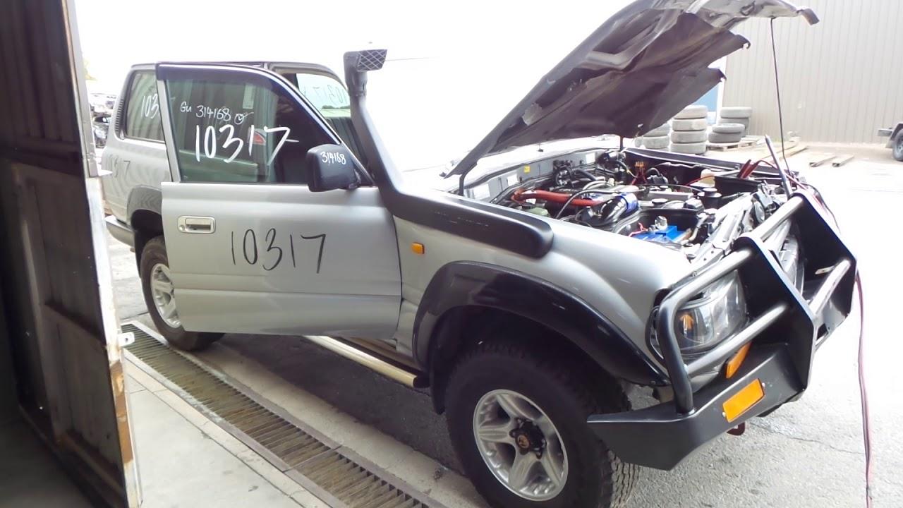 1993 TOYOTA LANDCRUISER 80 SERIES HZJ80R 4 2lt MAN 4WD WAGON 1HZ DTS TURBO  KIT 10317