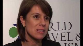 Brazilian Tourist Board President Jeanine Pires