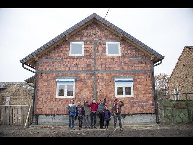 Izgradnja kuće porodici Lujanov iz Alibunara - Srbi za Srbe