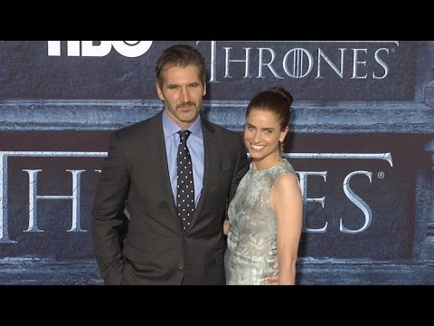 "David Benioff & Amanda Peet ""Game of Thrones"" Season 6 Hollywood Premiere"