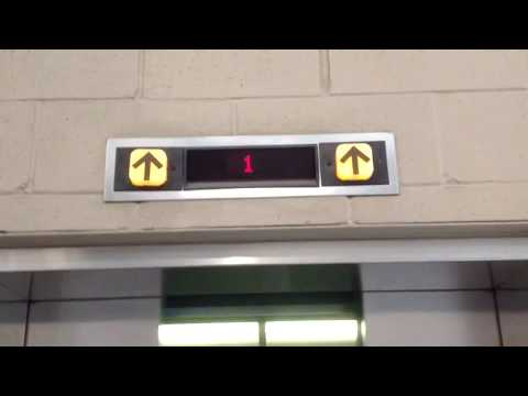 ThyssenKrupp Custom Impulse Traction Elevators at the Louis-Benton Parking Garage (2 of 2)