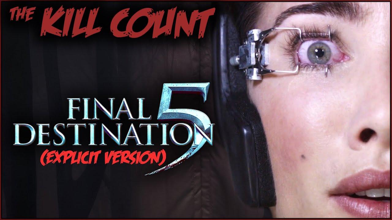 Final Destination 5 (2011) KILL COUNT [Explicit Version] - The explicit version for the episode of Kill Count of the same name
