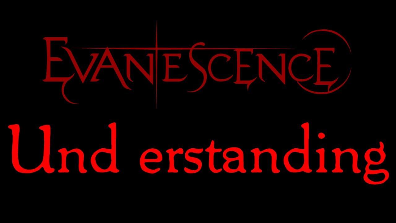Evanescence - Understanding Lyrics (Evanescence EP)
