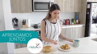 Cocinemos: Pancakes con topping de manzana