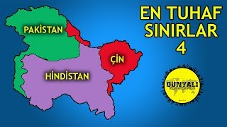 Dünyanın En Tuhaf Ülke Sınırları 4. Bölüm
