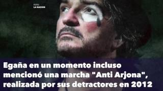 Ricardo Arjona se molesta con periodista de CNN y se retira de programa