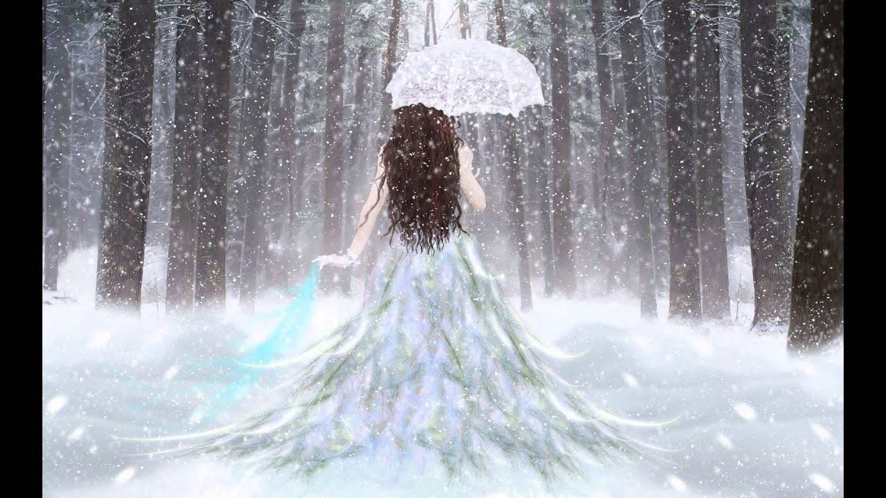 Snow Girl And The Dark Crystal Wallpaper When The Last Angel Falls Beautiful Piano Music Youtube
