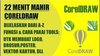 Gambar cover belajar coreldraw   tutorial corel draw x7 bahasa indonesia