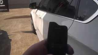 BMW X6アクティブ・ハイブリッドに エンジンスターター機能の付いたカー...
