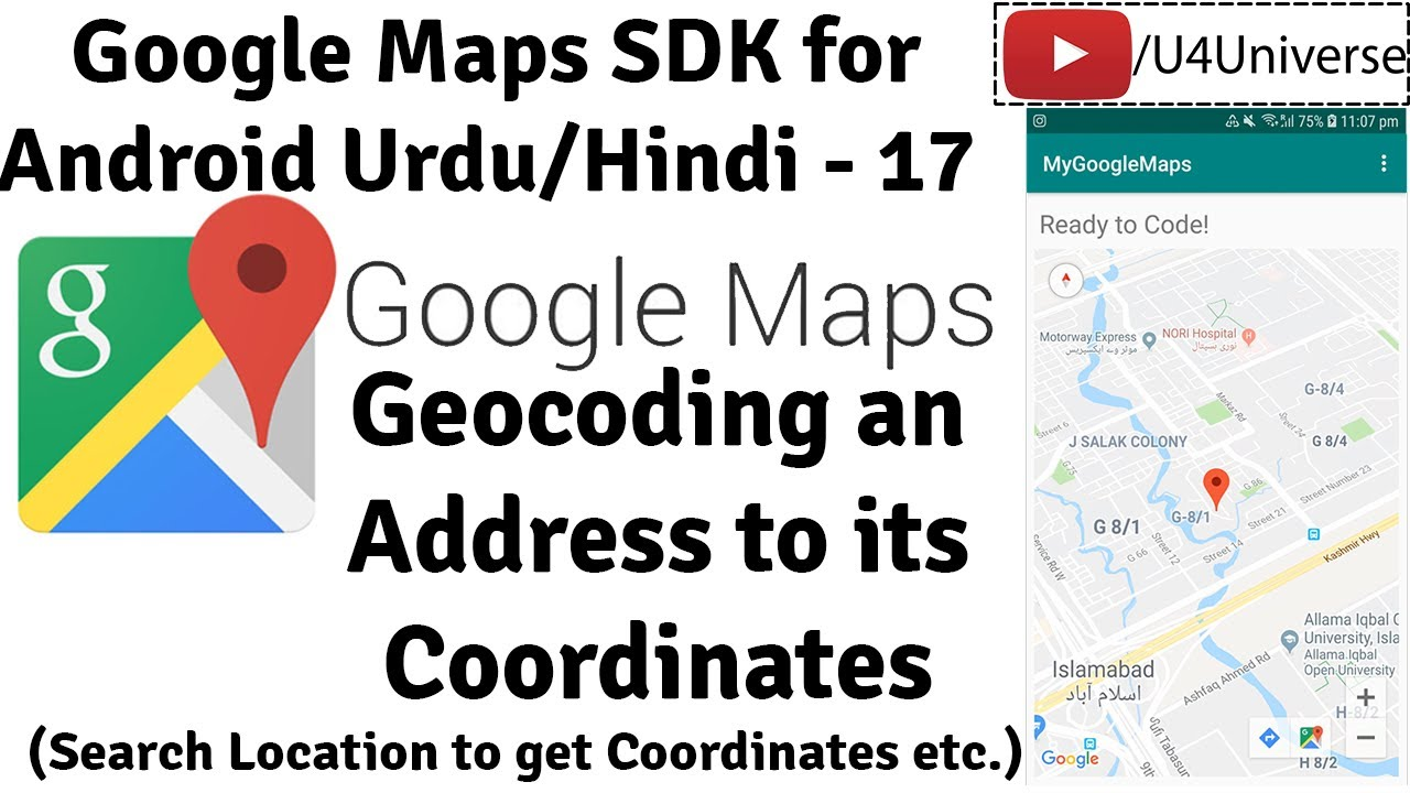 Google Maps For Android 17 Geocoding An Address To Its