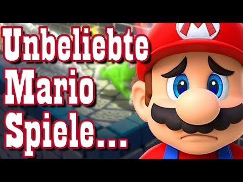 Die 10 UNBELIEBTESTEN Mario Spiele! - RGE