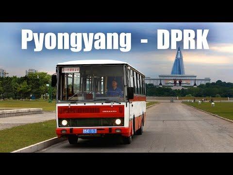 PYONGYANG BUS - Fahrt im Karosa B732 (2017)