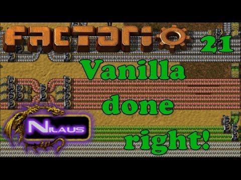 Factorio - Vanilla done right - E21 - Robots helping with Iron shortage