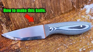 How To Make a Knife From a Beginners Perspective