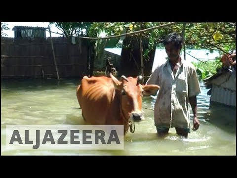 India monsoon rains affect nearly two million people