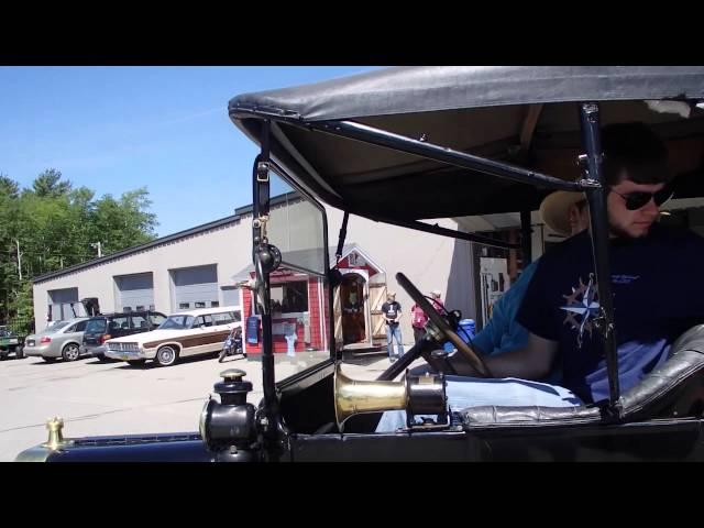 Riding a 1932 American Austin