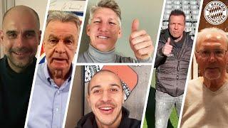 6 Titles! FC Bayern Legends Say Congratulations!