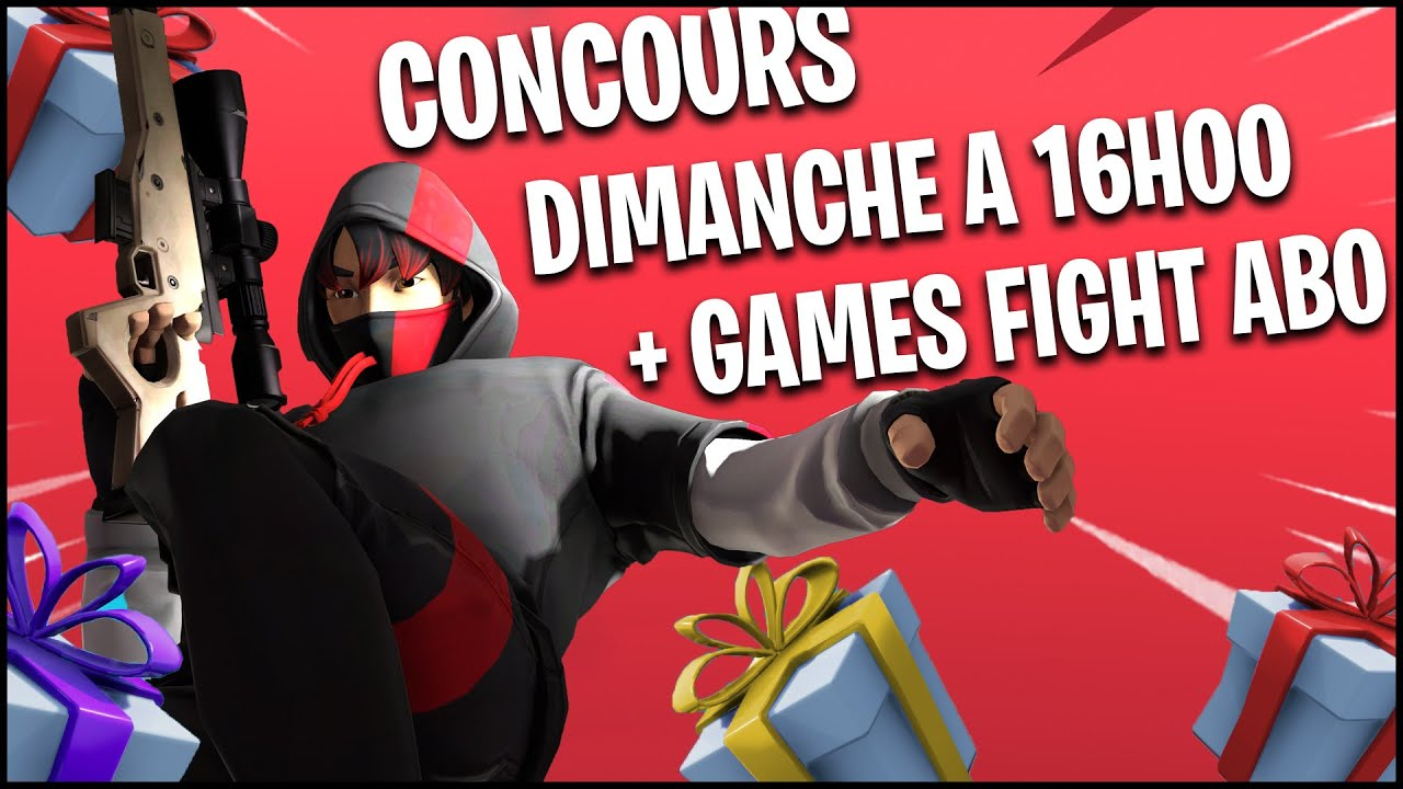 Date du Live Concours + Fight abo au programme
