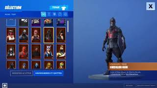HOW TO THE CHEVALIER NOIR FREE ON FORTNITE!!
